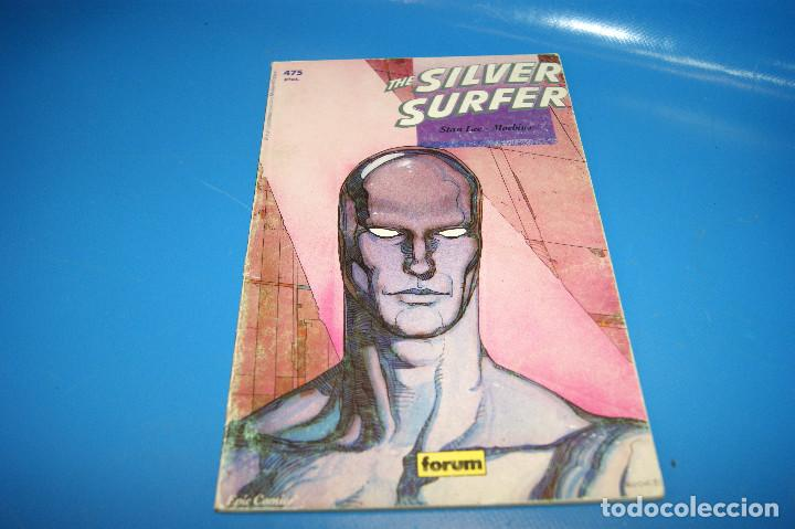 Cómics: comic-COLECCION PRESTIGIO-THE SILVER SURFER - STAN LEE / MOEBIUS - FORUM - Foto 2 - 243508835