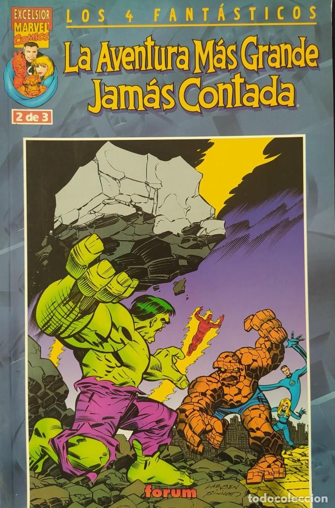 LOS 4 FANTÁSTICOS - LA AVENTURA MÁS GRANDE JAMÁS CONTADA - FORUM NUMERO 2 (Tebeos y Comics - Forum - 4 Fantásticos)