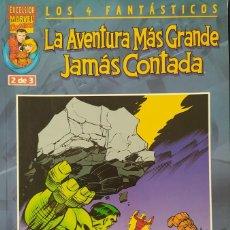 Cómics: LOS 4 FANTÁSTICOS - LA AVENTURA MÁS GRANDE JAMÁS CONTADA - FORUM NUMERO 2. Lote 243518220