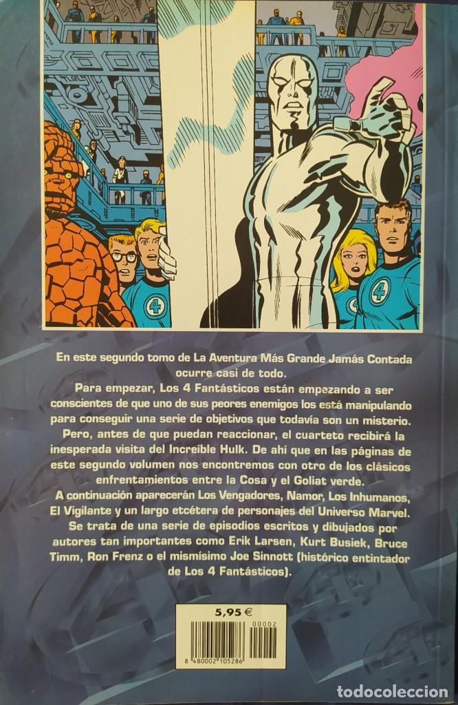 Cómics: LOS 4 FANTÁSTICOS - LA AVENTURA MÁS GRANDE JAMÁS CONTADA - FORUM NUMERO 2 - Foto 2 - 243518220