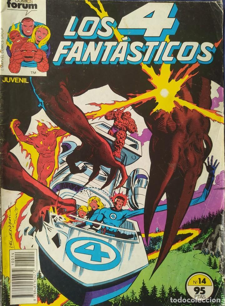 LOS 4 FANTÁSTICOS - FORUM - NUMERO 14 (Tebeos y Comics - Forum - 4 Fantásticos)