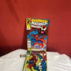 Cómics: SPIDERMAN VENENO MATANZA MÁXIMA COMPLETA FORUM 7 NÚMEROS -. Lote 243556270