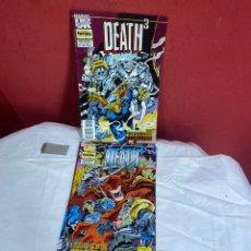 Cómics: DEATH 3 SERIE LIMITADA COMPLETA.IMPECABLE.. Lote 243560955
