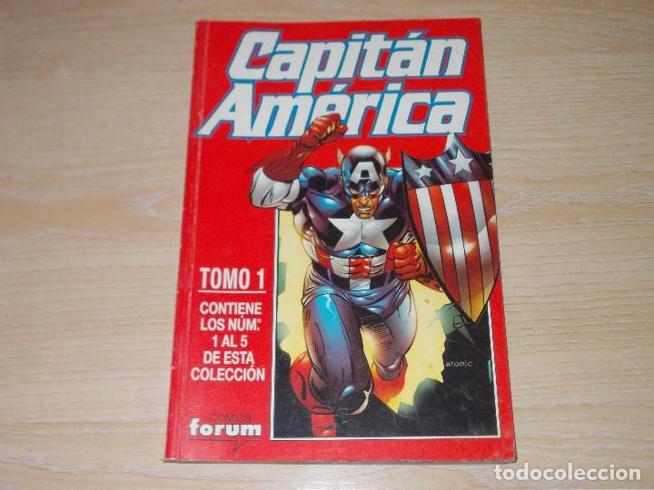 RETAPADO CAPITÁN AMÉRICA VOL-4. Nº 1 AL 5. FORUM (Tebeos y Comics - Forum - Retapados)