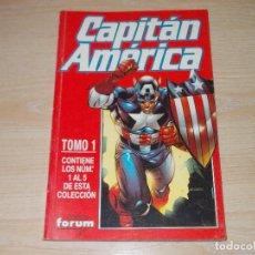 Cómics: RETAPADO CAPITÁN AMÉRICA VOL-4. Nº 1 AL 5. FORUM. Lote 243568090