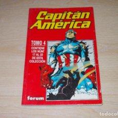 Cómics: RETAPADO CAPITÁN AMÉRICA VOL-4. Nº 17 AL 22. FORUM. Lote 243568260
