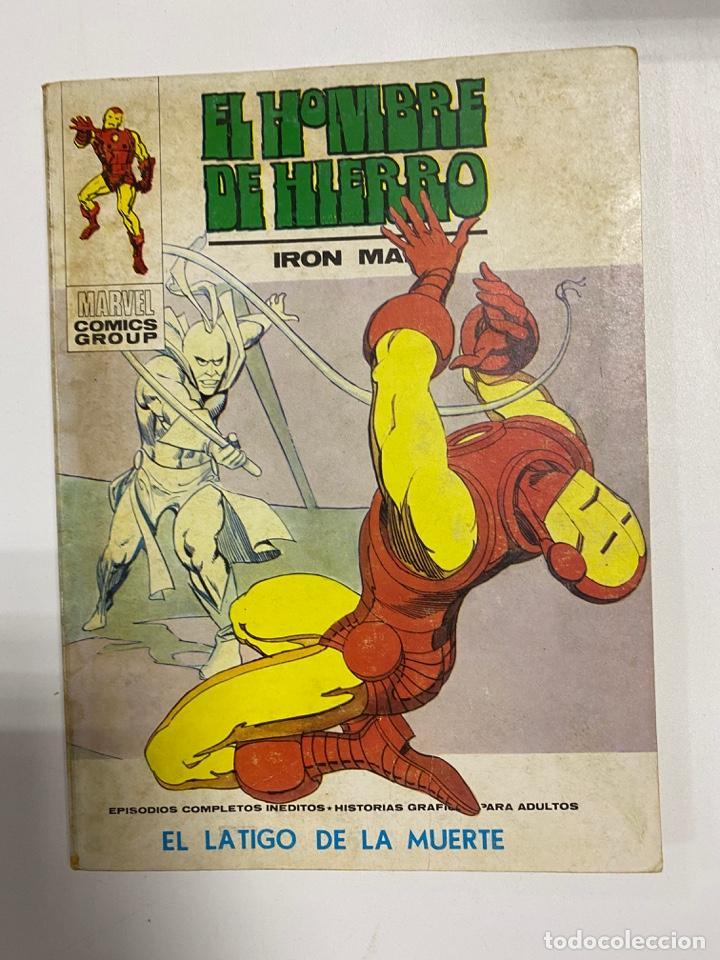 EL HOMBRE DE HIERRO. IRON MAN. Nº 32 - EL LATIGO DE LA MUERTE. MARVEL COMICS GROUP. (Tebeos y Comics - Forum - Iron Man)
