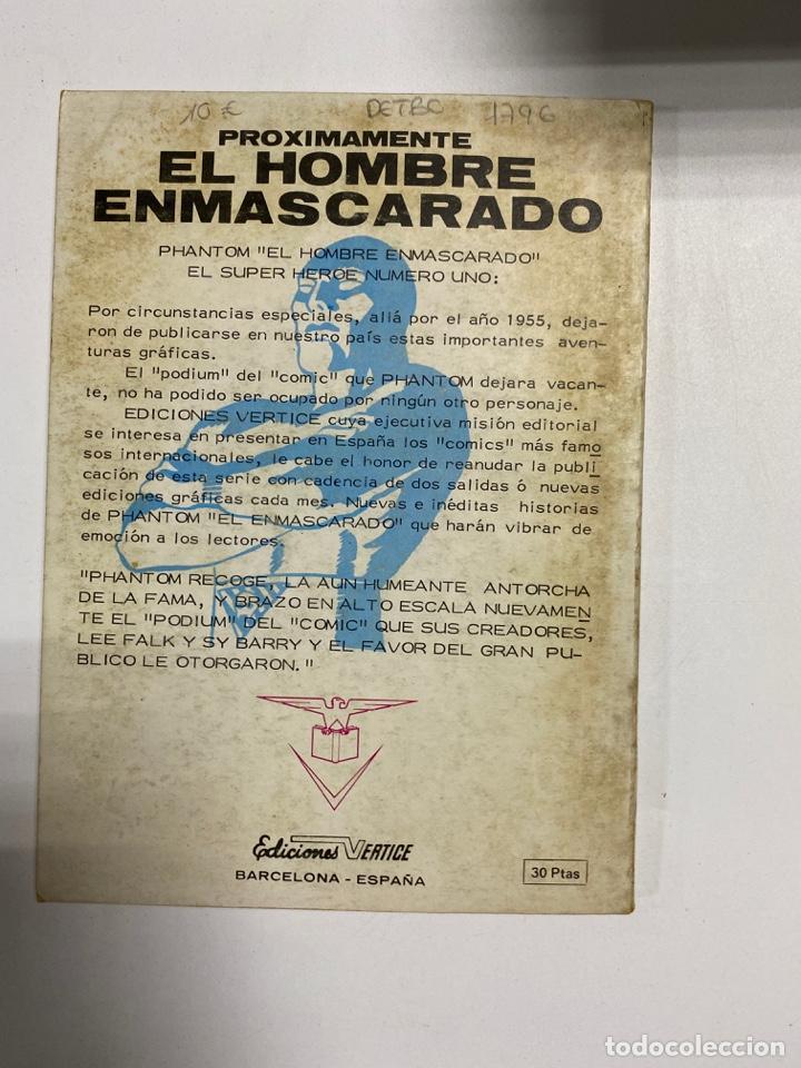 Cómics: EL HOMBRE DE HIERRO. IRON MAN. Nº 32 - EL LATIGO DE LA MUERTE. MARVEL COMICS GROUP. - Foto 3 - 243570565