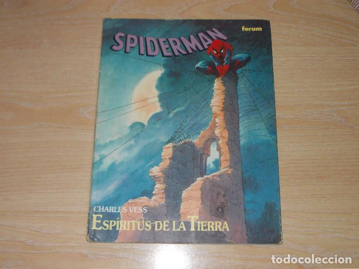 SPIDERMAN. ESPÍRITUS DE LA TIERRA. NOVELA GRAFICA. FORUM (Tebeos y Comics - Forum - Prestiges y Tomos)