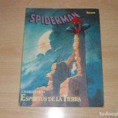 Cómics: SPIDERMAN. ESPÍRITUS DE LA TIERRA. NOVELA GRAFICA. FORUM. Lote 243570630