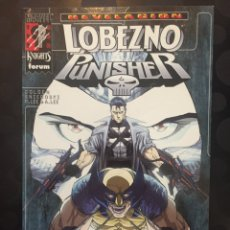 Cómics: LOBEZNO & PUNISHER : REVELACIÓN MARVEL KNIGHTS 96PP ( 2000 ). Lote 243582320