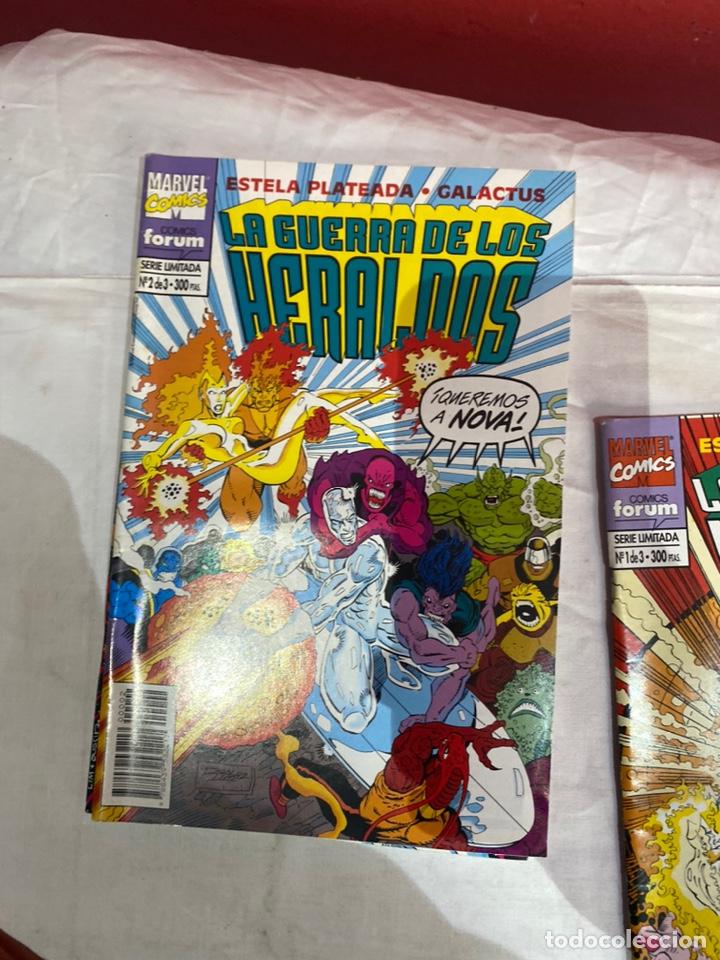 Cómics: La guerra de los heraldos nº 1 al 3 Colección COMPLETA (Forum ) Estela Plateada Galactus - Foto 3 - 243586310
