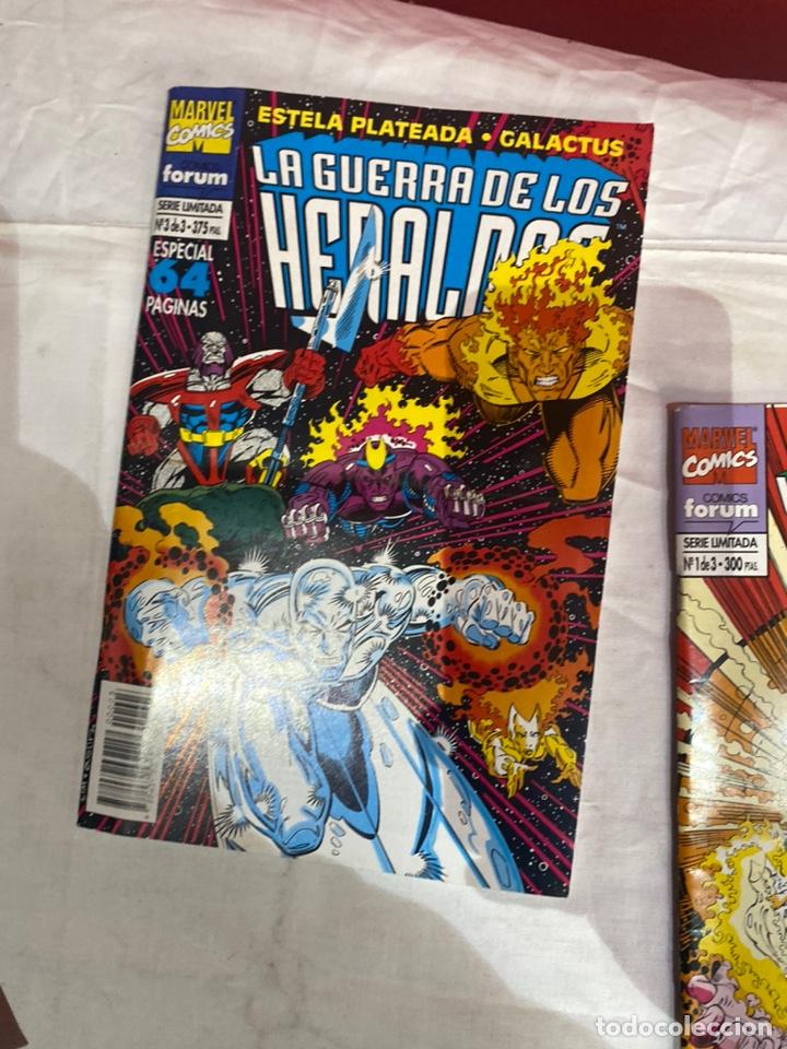 Cómics: La guerra de los heraldos nº 1 al 3 Colección COMPLETA (Forum ) Estela Plateada Galactus - Foto 4 - 243586310