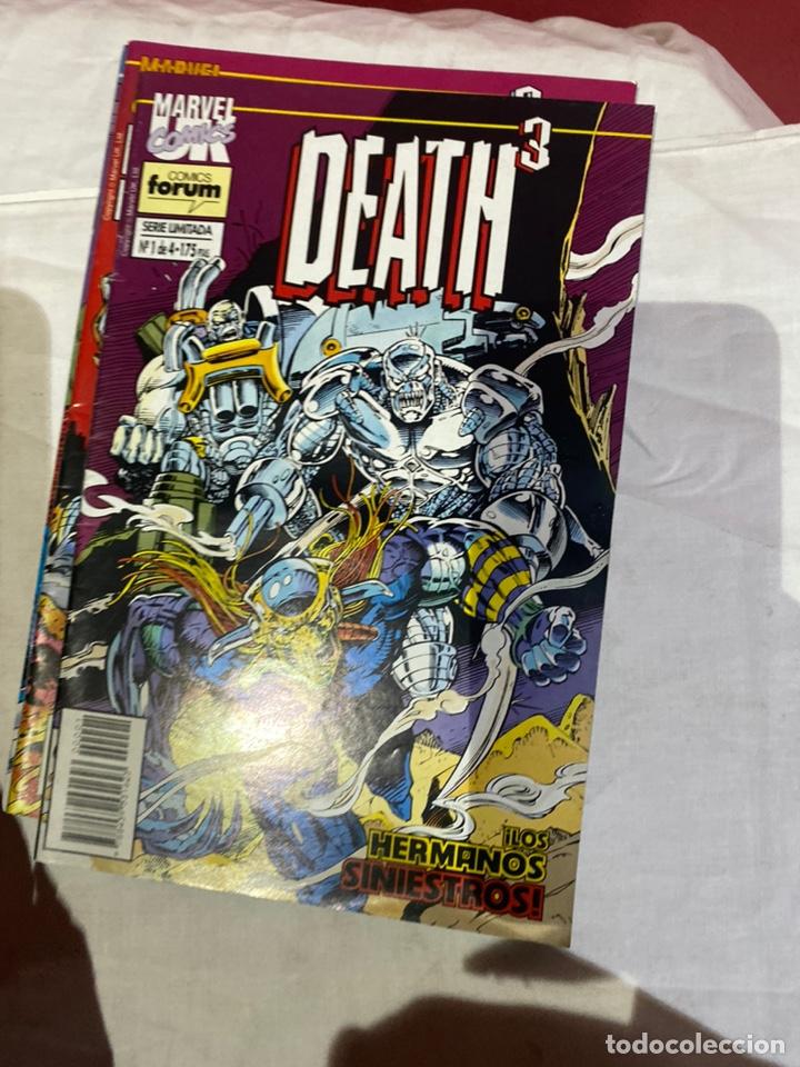 Cómics: Death3 - 4 números (Serie Limitada, Completa) - Forum 1994 - Foto 2 - 243588260