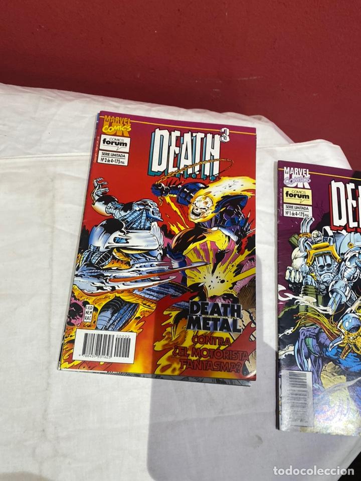 Cómics: Death3 - 4 números (Serie Limitada, Completa) - Forum 1994 - Foto 3 - 243588260