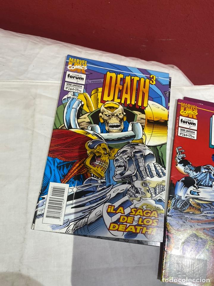 Cómics: Death3 - 4 números (Serie Limitada, Completa) - Forum 1994 - Foto 4 - 243588260