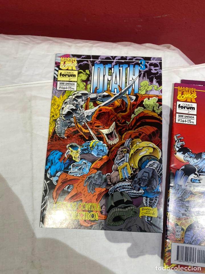 Cómics: Death3 - 4 números (Serie Limitada, Completa) - Forum 1994 - Foto 5 - 243588260