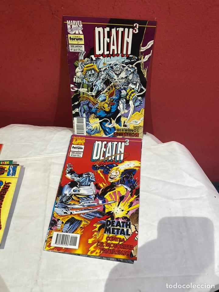 DEATH3 - 4 NÚMEROS (SERIE LIMITADA, COMPLETA) - FORUM 1994 (Tebeos y Comics - Forum - Otros Forum)