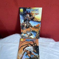 Cómics: 4 COMICS: MAGIC EL ENCUENTRO - MAGO SOMBRIO - COMPLETA. Lote 243594950