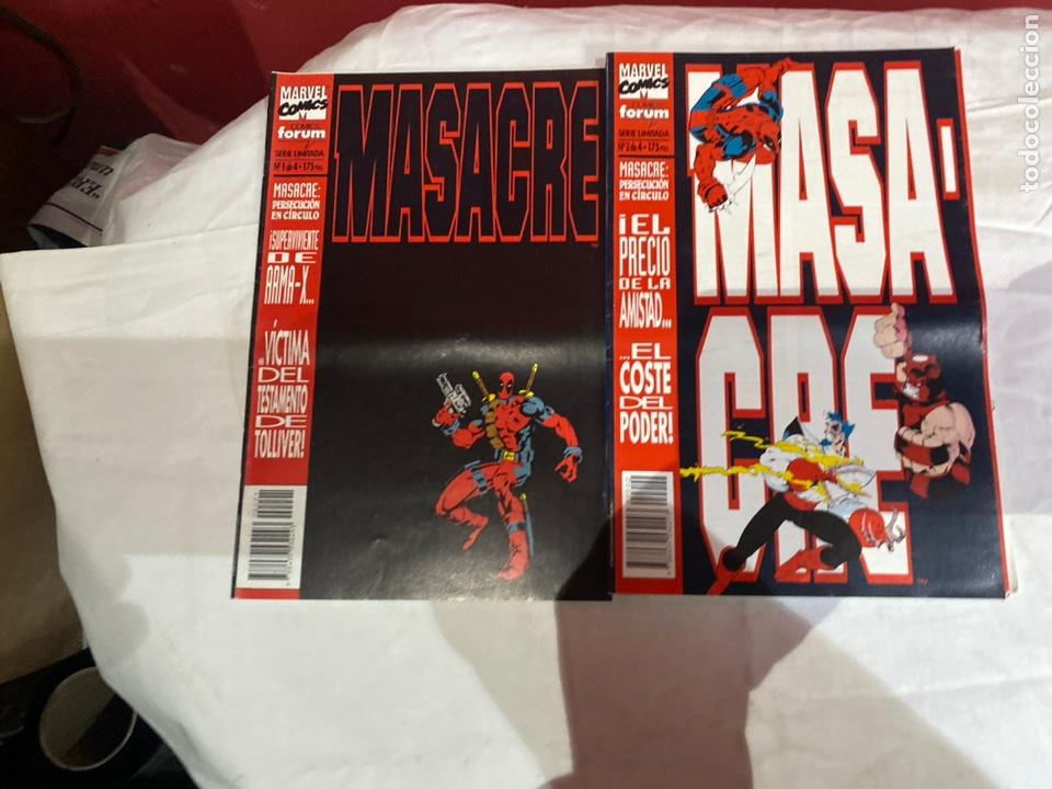 Cómics: MASACRE VOL. 1 Nº 1,2,3,4. - SERIE LIMITADA - COMPLETA (DEADPOOL) - Foto 2 - 243595335