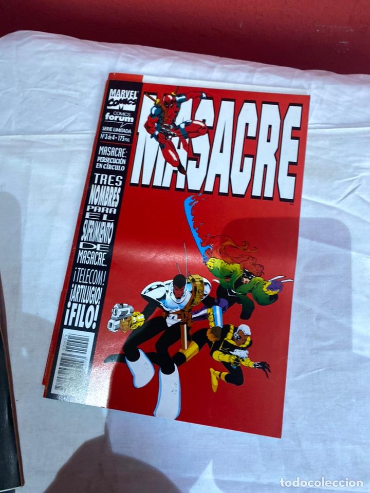 Cómics: MASACRE VOL. 1 Nº 1,2,3,4. - SERIE LIMITADA - COMPLETA (DEADPOOL) - Foto 3 - 243595335