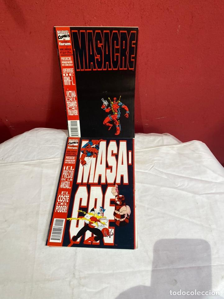 MASACRE VOL. 1 Nº 1,2,3,4. - SERIE LIMITADA - COMPLETA (DEADPOOL) (Tebeos y Comics - Forum - Otros Forum)
