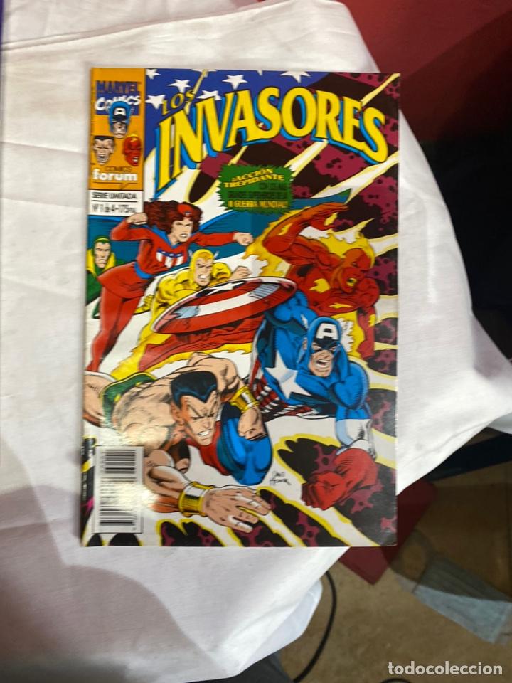 Cómics: Los invasores serie limitada de Forum vol1 COMPLETA 4 Comics - Foto 2 - 243595565