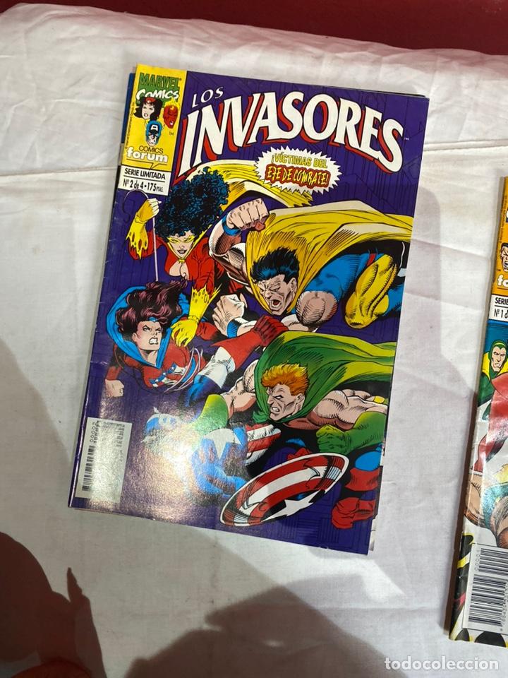 Cómics: Los invasores serie limitada de Forum vol1 COMPLETA 4 Comics - Foto 3 - 243595565