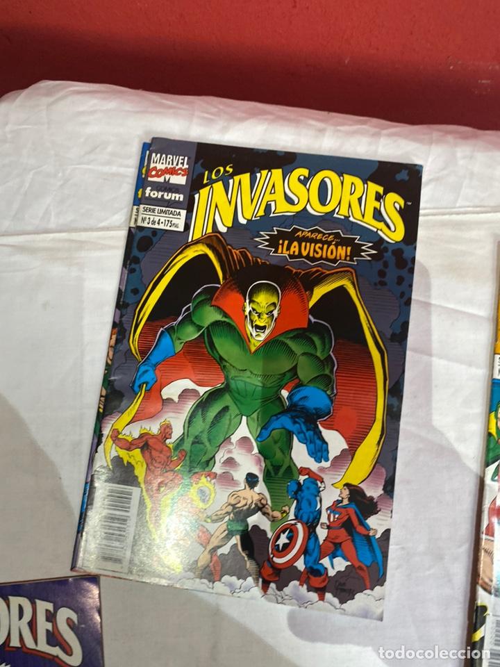 Cómics: Los invasores serie limitada de Forum vol1 COMPLETA 4 Comics - Foto 4 - 243595565