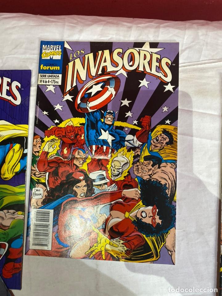 Cómics: Los invasores serie limitada de Forum vol1 COMPLETA 4 Comics - Foto 5 - 243595565