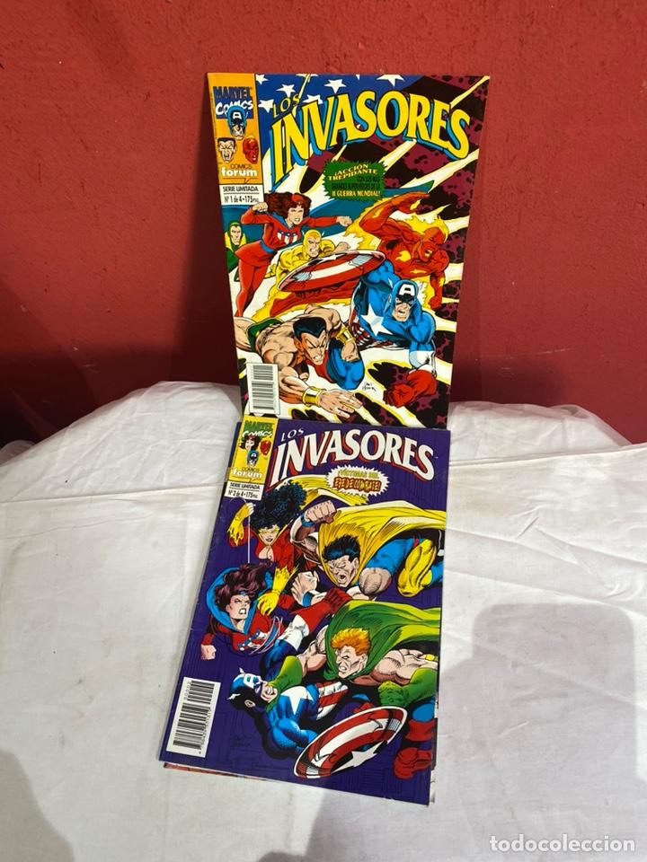 LOS INVASORES SERIE LIMITADA DE FORUM VOL1 COMPLETA 4 COMICS (Tebeos y Comics - Forum - Otros Forum)