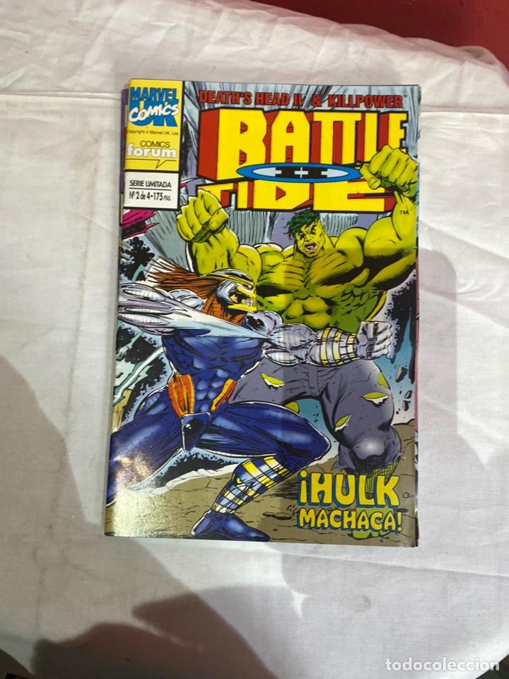 Cómics: BATTLE TIDE II - 4 NUMEROS - COMPLETA - FORUM. - Foto 3 - 243596270