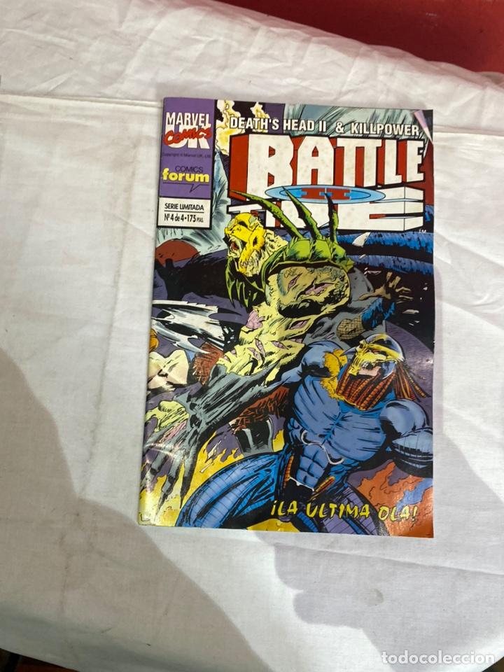 Cómics: BATTLE TIDE II - 4 NUMEROS - COMPLETA - FORUM. - Foto 5 - 243596270