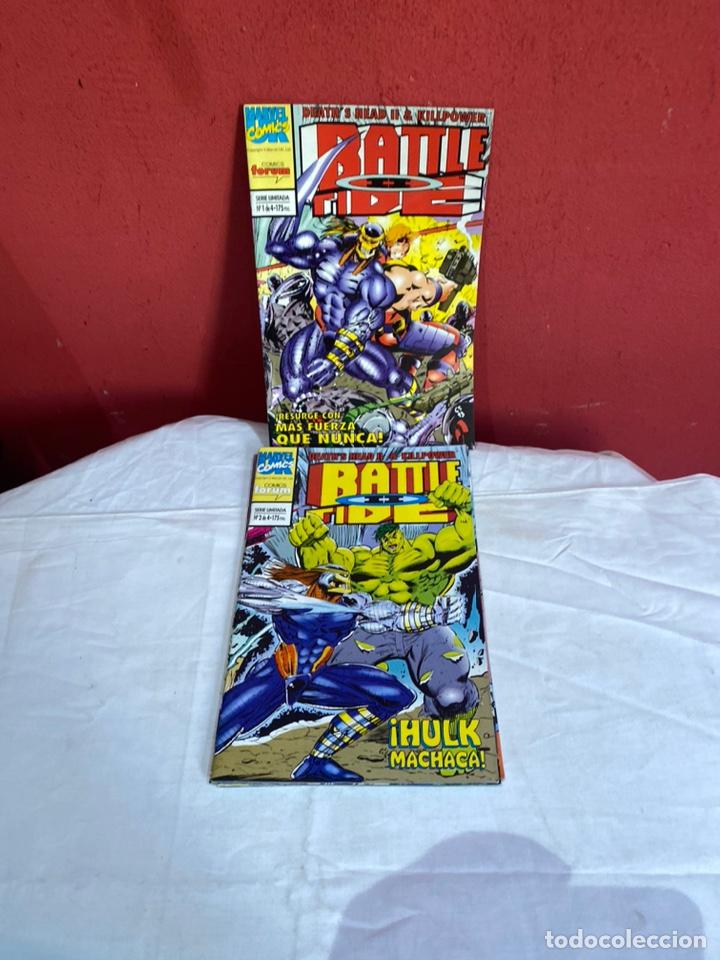 BATTLE TIDE II - 4 NUMEROS - COMPLETA - FORUM. (Tebeos y Comics - Forum - Otros Forum)