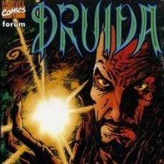 Cómics: DRUIDA - FORUM - WARREN ELLIS & LEONARDO MANCO 1999. Lote 243663020