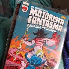 Cómics: EL ORIGINAL MOTORISTA FANTASMA CABALGA DE NUEVO - FORUM 1992 - CASI COMPLETA 6 DE 7 TOMOS. Lote 243666070