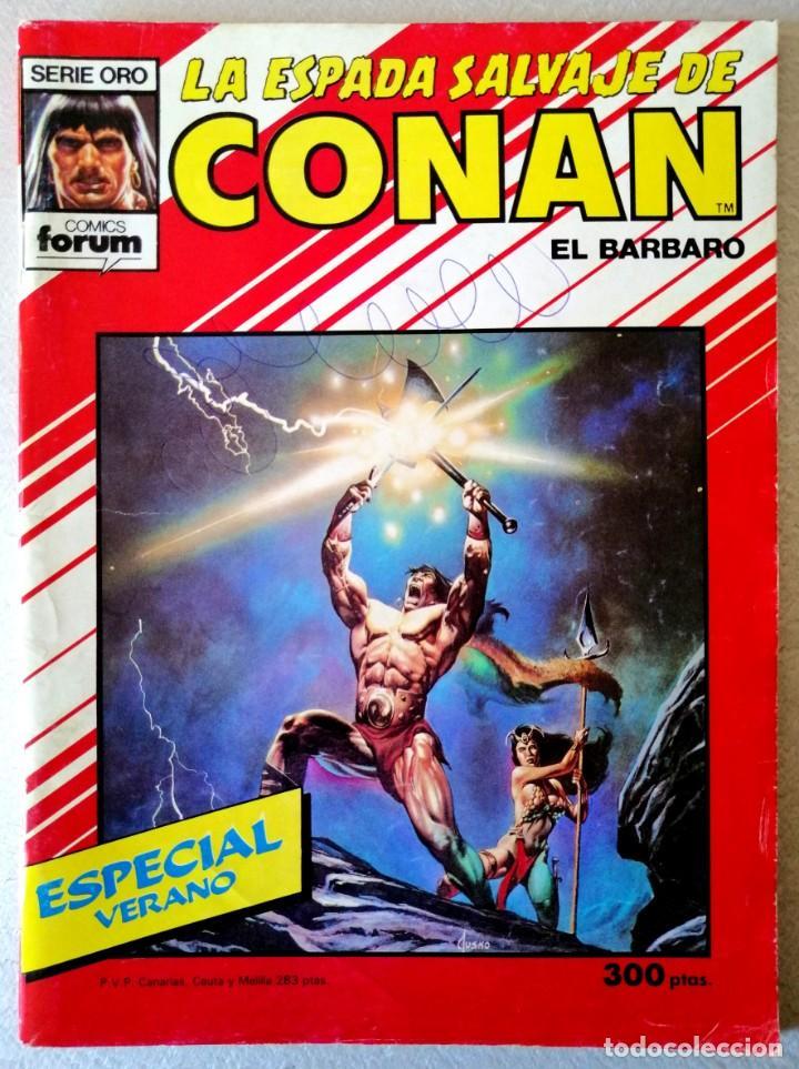 LA ESPADA SALVAJE DE CONAN - ESPECIAL VERANO - FORUM 1988 (Tebeos y Comics - Forum - Conan)