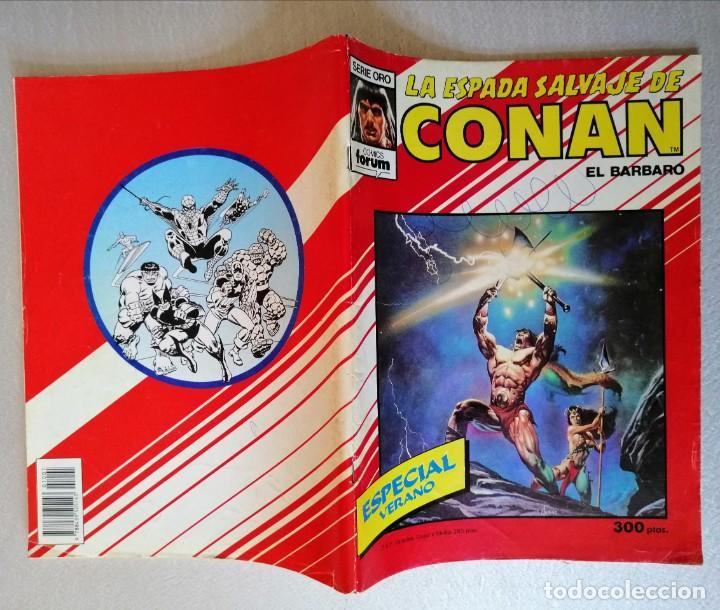 Cómics: LA ESPADA SALVAJE DE CONAN - ESPECIAL VERANO - FORUM 1988 - Foto 2 - 243689555