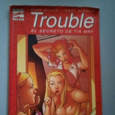 Cómics: TROUBLE-EL SECRETO DE TIA MAY # FORUM. Lote 243699290