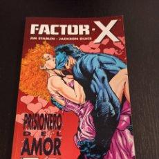 Cómics: FACTOR-X. PRISIONERO DEL AMOR. JIM STARLIN. JACKSON GUICE.. Lote 243804910