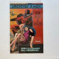 Cómics: ARCHIVOS X-MEN - LEGIÓN: PRELUDIO AL APOCALIPSIS DE CHRIS CLAREMONT Y BILL SIENKIEWICZ. FORUM.. Lote 243815735