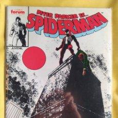 Cómics: SPIDERMAN #136 PRIMERA EDICIÓN - FORUM-(FN)-BOLSA & BACKBOARD. Lote 243850580