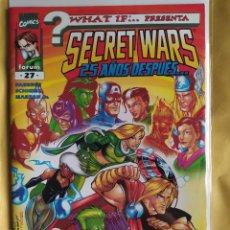 Cómics: WHAT IF #27 PRIMERA EDICIÓN VOLUMEN 2-¡¡EL ÚLTIMO!! - FORUM-(VFN)-BOLSA & BACKBOARD. Lote 243850845