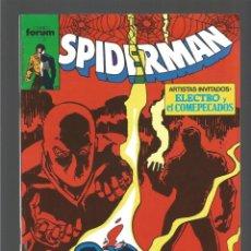 Cómics: SPIDERMAN Nº 183. FORUM, VOL 1. MUY BUEN ESTADO. Lote 243851635
