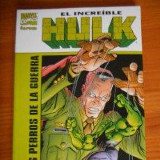 Cómics: EL INCREIBLE HULK LOS PERROS DE LA GUERRA - MARVEL - FORUM (FK). Lote 243865315