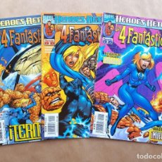 Cómics: LOS 4 FANTÁSTICOS - HEROES RETURN 2 3 Y 4 - ALAN DAVIS - FORUM. Lote 243876310
