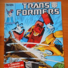 Fumetti: TRANSFORMERS - Nº 24 - FORUM - PROCEDE DE RETAPADO (A). Lote 243888460
