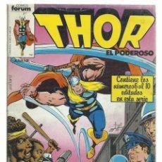Cómics: THOR RETAPADO 6 AL 10, 1983, FORUM, BUEN ESTADO. Lote 243903510
