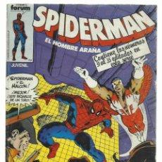 Cómics: SPIDERMAN, TOMO RETAPADO 31 AL 35, 1983, FORUM, BUEN ESTADO. Lote 243904905