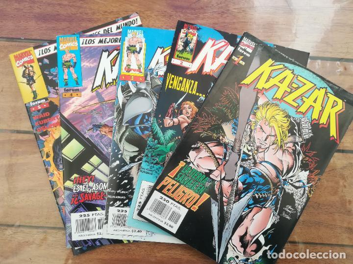 KAZAR. LOTE DEL 1 AL 5. FORUM (Tebeos y Comics - Forum - Otros Forum)